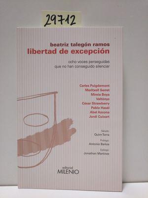 LIBERTAD DE EXCEPCIÓN
