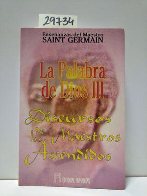 LA PALABRA DE DIOS (III)