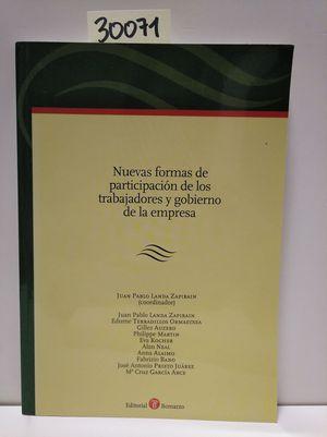 NUEVAS FORMAS DE PARTICIPACIÓN DE LOS TRABAJADORES Y GOBIERNO DE LA EMPRESA