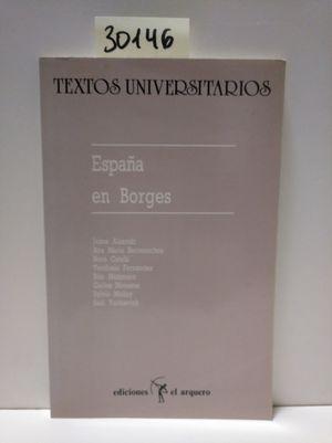 ESPAÑA EN BORGES