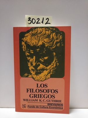LOS FILÓSOFOS GRIEGOS