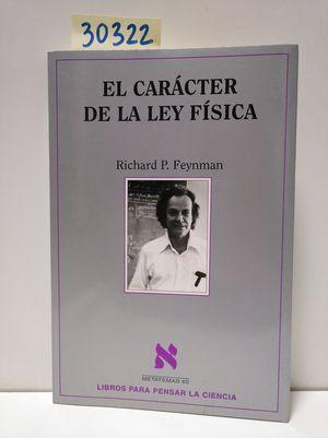 EL CARÁCTER DE LA LEY FÍSICA