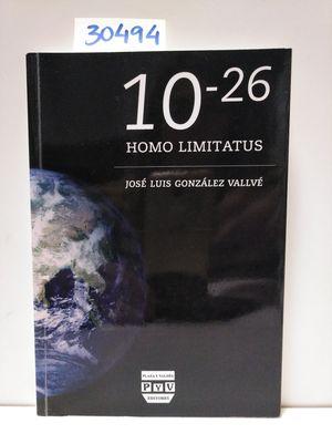 10-26. HOMO LIMITATUS