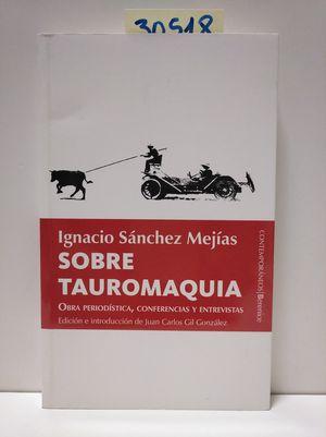 SOBRE TAUROMAQUIA