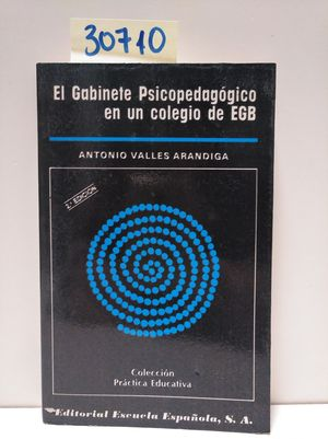 EL GABITE PSICOPEDAGÓGICO EN UN COLEGIO DE EGB
