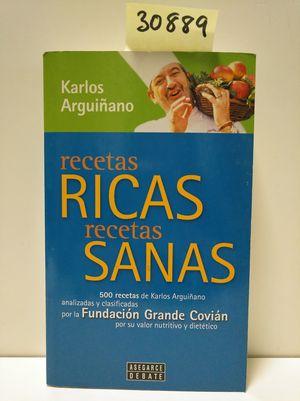 RECETAS RICAS, RECETAS SANAS