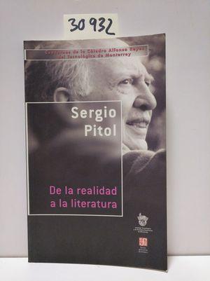 DE LA REALIDAD A LA LITERATURA