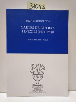 CARTES DE GUERRA I D'EXILI (1934-1960)