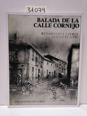 BALADA DE LA CALLE CORNEJO