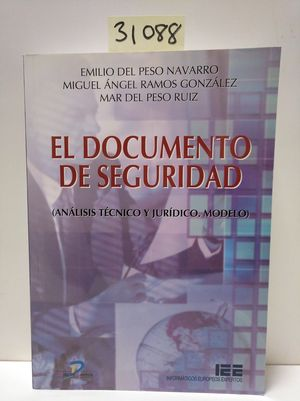 EL DOCUMENTO DE SEGURIDAD