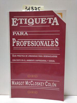 ETIQUETA PARA PROFESIONALES