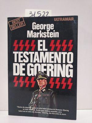 EL TESTAMENTO DE GOERING