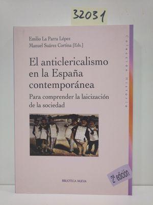 ANTICLERICALISMO EN LA ESPAÑA CONTEMPORANEA,EL NE