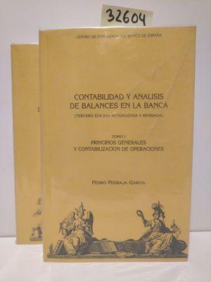 CONTABILIDAD Y ANÁLISIS DE BALANCES EN LA BANCA (2 VOLÚMENES)