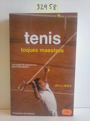 TENIS. TOQUES MAESTROS
