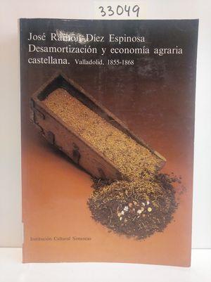 DESAMORTIZACIÓN Y ECONOMÍA AGRARIA CASTELLANA