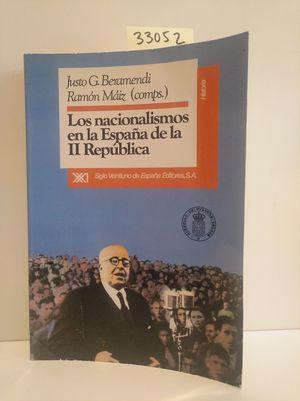 LOS NACIONALISMOS EN LA ESPAÑA DE LA II REPÚBLICA
