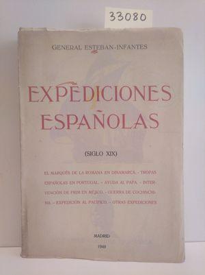 EXPEDICIONES ESPAÑOLAS (SIGLO XIX)