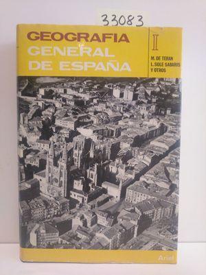 GEOGRAFÍA GENERAL DE ESPAÑA I