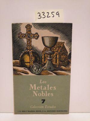 LOS METALES NOBLES