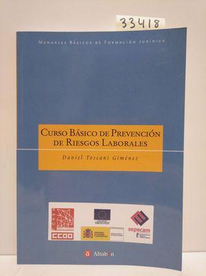 CURSO BÁSICO DE PREVENCIÓN DE RIESGOS LABORALES