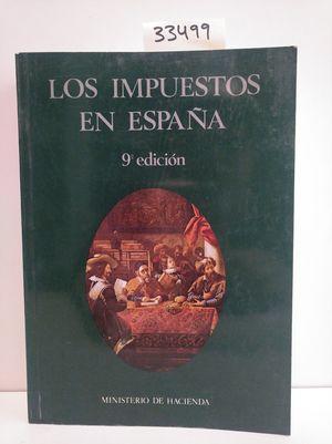 IMPUESTOS EN ESPAÑA, LOS