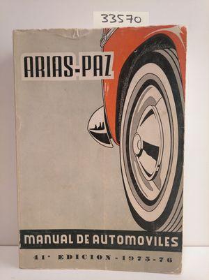 MANUAL DE AUTOMÓVILES. 41 EDICION 1975-76
