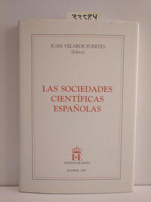 LAS SOCIEDADES CIENTÍFICAS ESPAÑOLAS