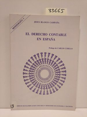 DERECHO CONTABLE EN ESPAÑA, EL