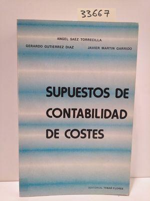 SUPUESTOS DE CONTABILIDAD DE COSTES