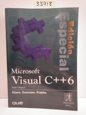 MICROSOFT VISUAL C++6 EDICION ESPECIAL