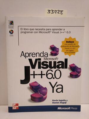 APRENDA VISUAL J + + 6.0 YA