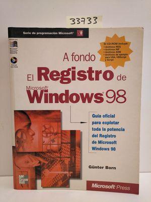 EL REGISTRO DE MICROSOFT WINDOWS 95