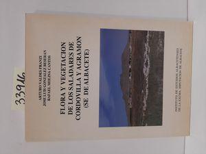FLORA Y VEGETACIÓN SALADARES DE CORDOVILLA Y AGRAMON (SE DE ALBACETE)
