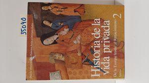 HISTORIA DE LA VIDA PRIVADA. II